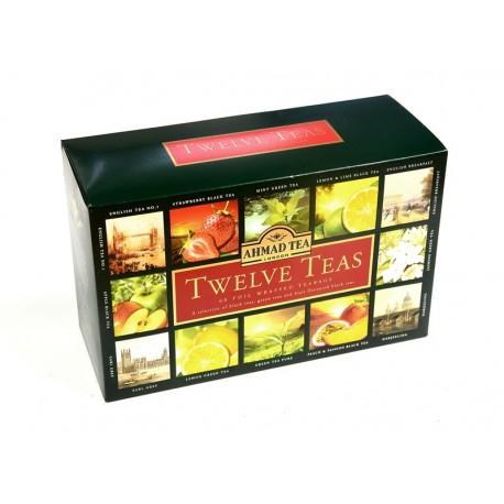 Zestaw herbat Ahmad Tea London Twelve Teas 12 smaków