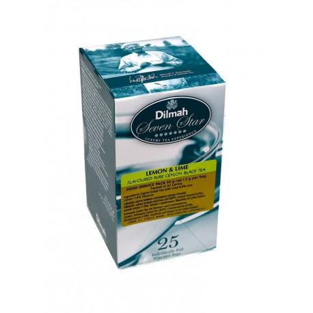 Herbata Dilmah Lemon & Lime 25 kopert
