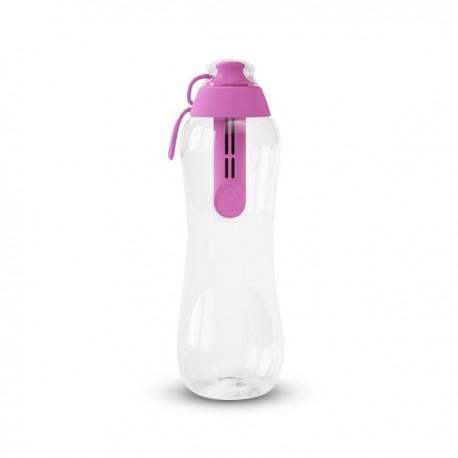 Butelka filtrująca do wody kranowej dafi 0,5 l kolor flamingowy