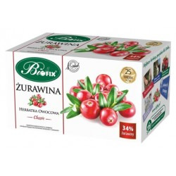 Herbata owocowa Classic Żurawina ekspresowa