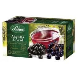 Herbata Bifix Premium Aronia z Acai - ekspresowa w kopertkach