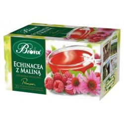 Herbata Bifix Premium Echinacea z maliną - ekspresowa w kopertkach