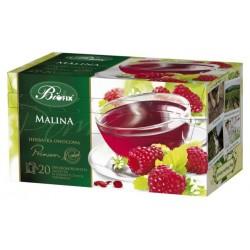 Herbata Bifix Premium Malina - ekspresowa w kopertkach