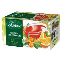 Herbata Bifix Premium Rokitnik z pomarańczą - ekspresowa w kopertkach