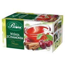 Herbata Bifix Premium Wiśnia z cynamonem  - ekspresowa w kopertkach