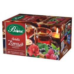 Herbata Bifix Zimowa ekspresowa w kopertkach