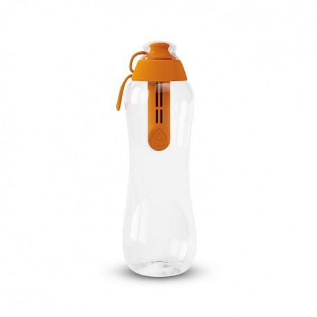 Butelka filtrująca do wody kranowej dafi 0,5 l kolor mandarynkowym