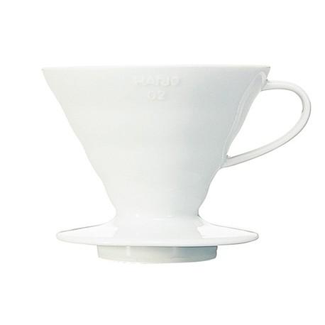 Ceramiczny Drip V60-02 Hario Biały