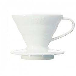 Ceramiczny Dripper V60-01 Hario Biały