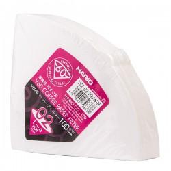 Filtry papierowe do Drippera V60-02 Hario