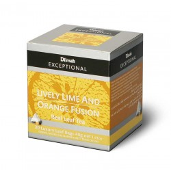 Herbata Dilmah Exceptional Lively Lime & Orange Fusion 20x2g
