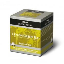 Herbata Dilmah Exceptional Ceylon Green Tea 20x2g