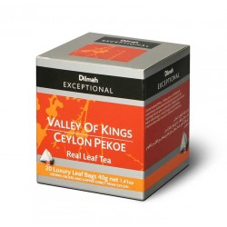 Herbata Dilmah Exceptional Valley of Kings Ceylon Pekoe 20x2g