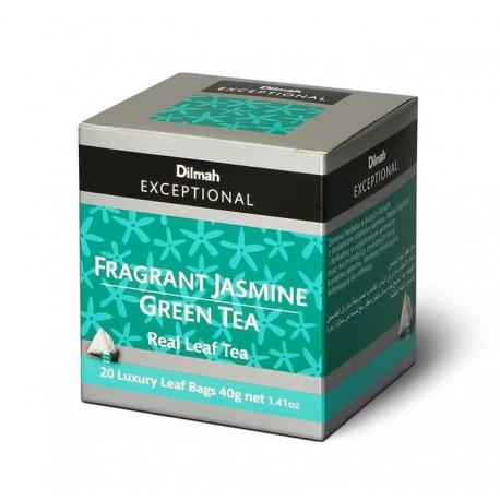 Herbata Dilmah Exceptional Fragrant Jasmine Green Tea 20x2g