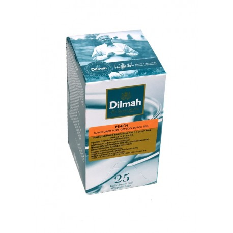Herbata Dilmah Peach  25 kopert