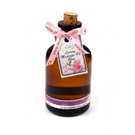 Naturalny olejek do ciała i masażu róża damasceńska 100 ml