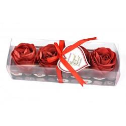 Konfetti mydlane Royal Velvet czerwone o zapachu różanym