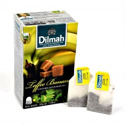 Herbata Dilmah Toffee & Banana 20 torebek