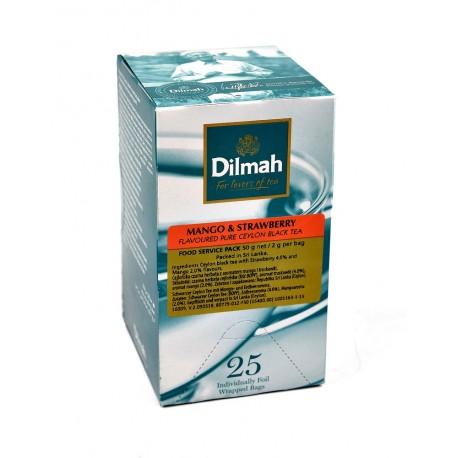 Herbata Dilmah w kopertach Mango & Strawberry 25x2g