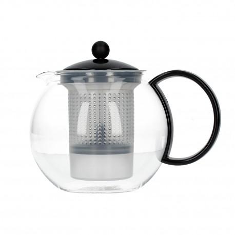 Dzbanek do parzenia herbaty Bodum Assam z plastikowym filtrem 1l czarny