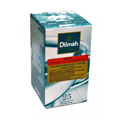 Herbata Dilmah w kopertach Lychee 25x2g