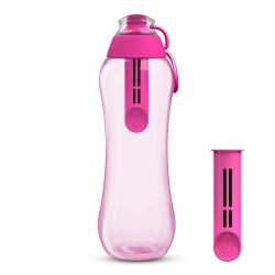 Butelka filtrująca do wody kranowej Dafi 0,7 l kolor flamingowy