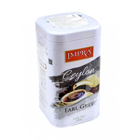 Herbata liściasta Impra Ceylon Earl Grey puszka 100g