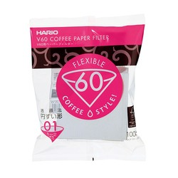 Filtry papierowe do Drippera V60-01 Hario Misarashi