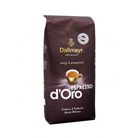 Kawa ziarnista Dallmayr Espresso d'Oro 1 kg.