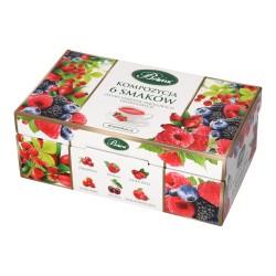 Kompozycja 6 smaków Herbat owocowych