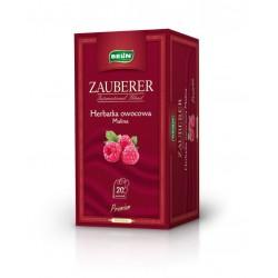 Herbata Belin ZAUBERER owocowa o smaku maliny 20 kopert