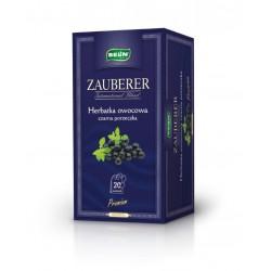 Herbata Belin ZAUBERER owocowa o smaku czarnej porzeczki 20 kopert