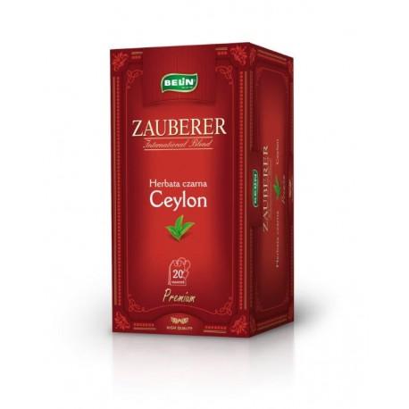 Herbata czarna Belin ZAUBERER Ceylon 20 kopert