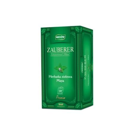 Herbata ziołowa Belin ZAUBERER mięta 20 kopert