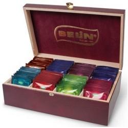 Prezenter do herbat Belin plus 8 smaków herbat Zauberer w kopertach