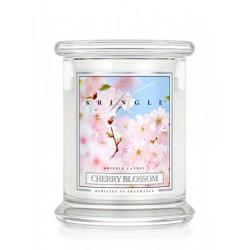 Aromatyczna świeca Kringle Cherry Blossom w zamykanym szklanym słoiku