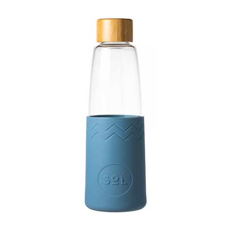Butelka ekologiczna Sol Bottle 850 ml błękitna