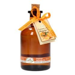 Naturalny olejek do ciała i masażu pomarańcza 125 ml