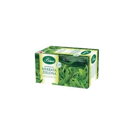 Herbata zielona oryginalna ekspresowa w kopertkach