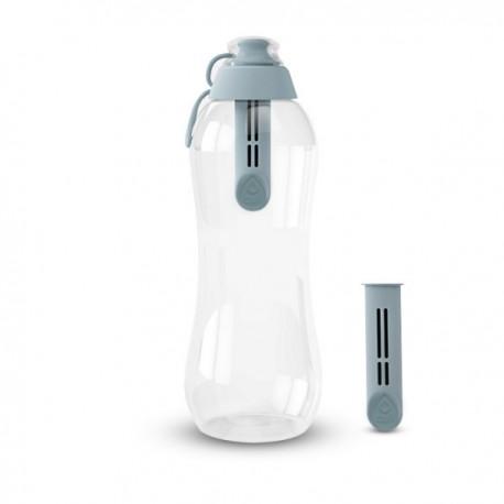 Butelka filtrująca do wody kranowej Dafi 0,7 l kolor stalowa