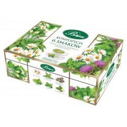 Kompozycja 6 Herbat ziołowych Bifix