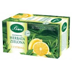 Herbata zielona z cytryną ekspresowa w kopertkach