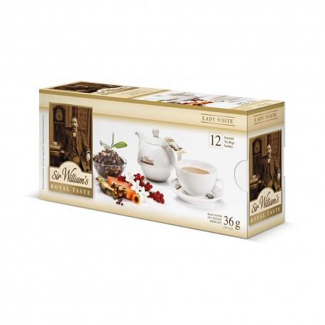 Herbata Sir William's Lady White12 saszetek