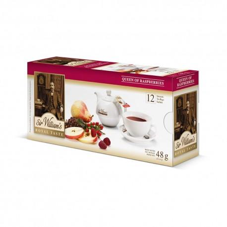 Herbata Sir William's Queen of Raspberries 12 saszetek