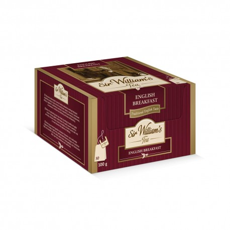 Herbata Sir William's Tea ENGLISH BREAKFAST 50 kopert