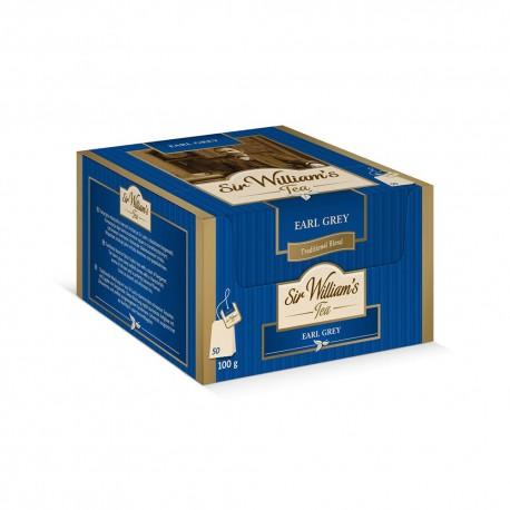 Herbata Sir William's Tea EARL GREY 50 kopert