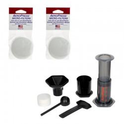 Zestaw AeroPress zaparzacz do kawy 250 ml i zest. 2 filtrów