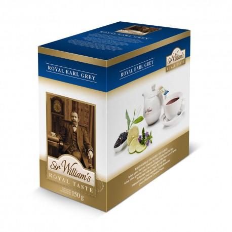 Herbata Sir William's Royal Earl Grey 50 saszetek