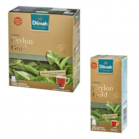 Herbata Dilmah Ceylon Gold 100 torebek 100 + 25 torebek