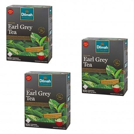 Herbata Dilmah Earl Grey 100 torebek trójpak